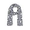 Stella McCartney - Heart Print Scarf - PE14 - f