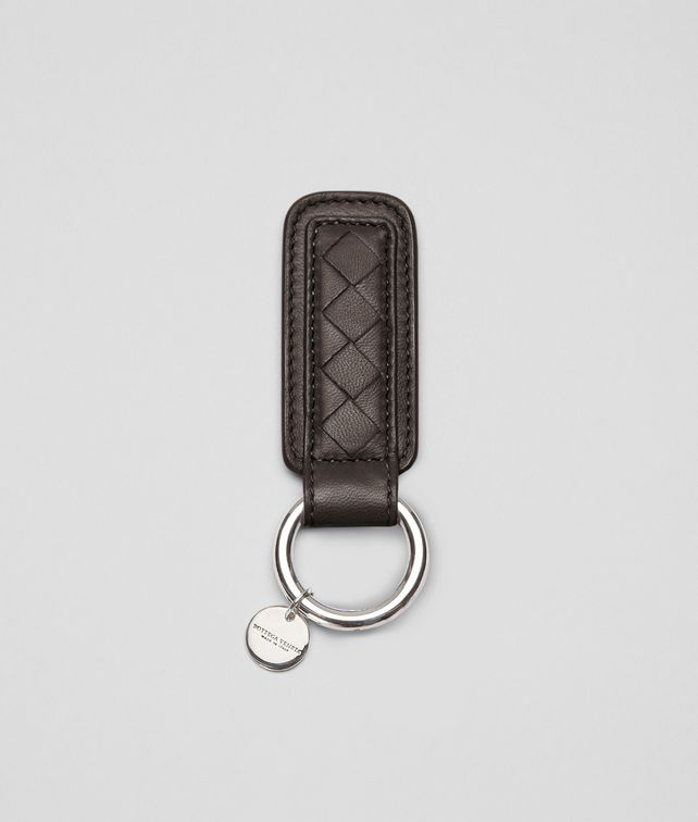 Ebano Intrecciato Nappa Key Ring