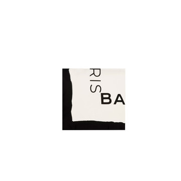 Balenciaga Twill-Foulard mit Logo