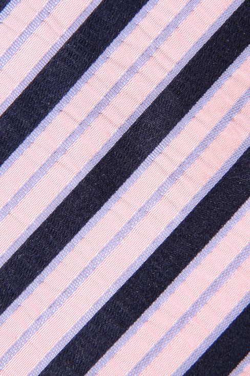 STRIPED BI-COLOUR LOOK TIE: Ties Men by Armani - 3