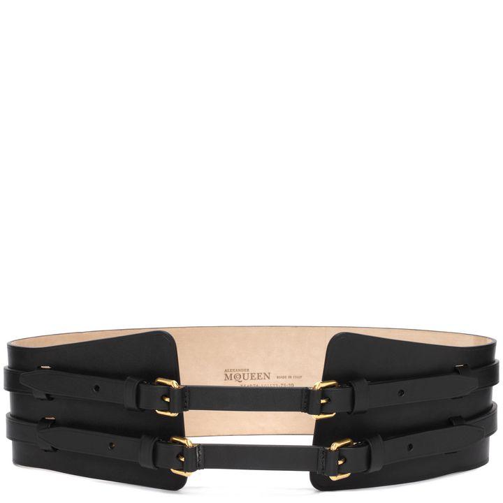 Alexander McQueen, Double Buckle Waist Belt