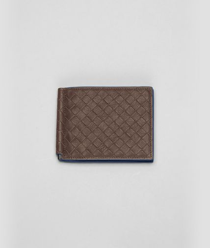BOTTEGA VENETA - Edoardo Électrique Intrecciato Washed Vintage Wallet