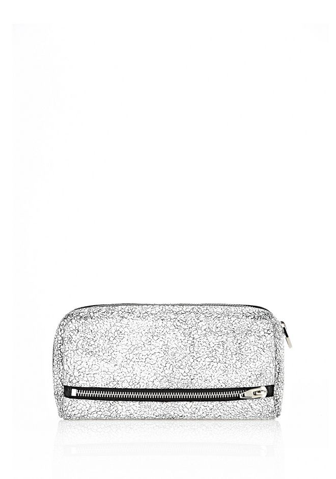 ALEXANDER WANG FUMO CONTINENTAL IN MATTE CRACKED PEROXIDE WITH RHODIUM Wallets Adult 12_n_d