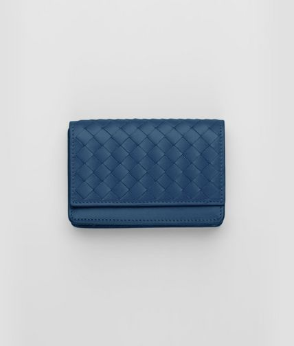 BOTTEGA VENETA - Électrique Intrecciato VN Card Case