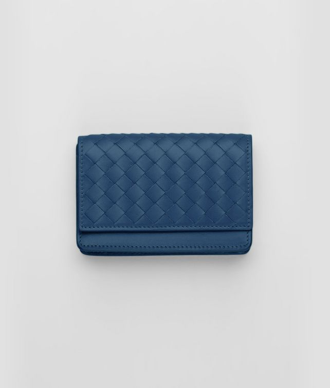 BOTTEGA VENETA Électrique Intrecciato VN Card Case Card Case or Coin Purse U fp