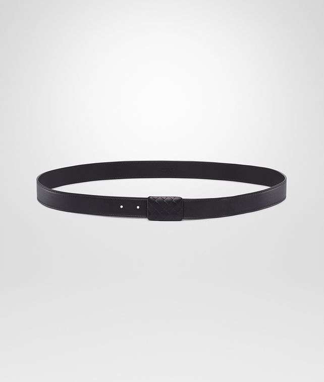 BOTTEGA VENETA NERO LIGHT CALF BELT Belt U fp