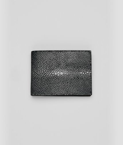 BOTTEGA VENETA - Nero Soft Stingray Wallet