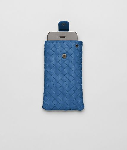 BOTTEGA VENETA - Électrique Intrecciato Nappa iPhone Case