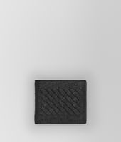 WALLET IN NERO OSTRICH