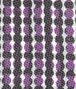 BOTTEGA VENETA BLACK DARK PURPLE COTTON SILK TIE Tie or bow tie U ap