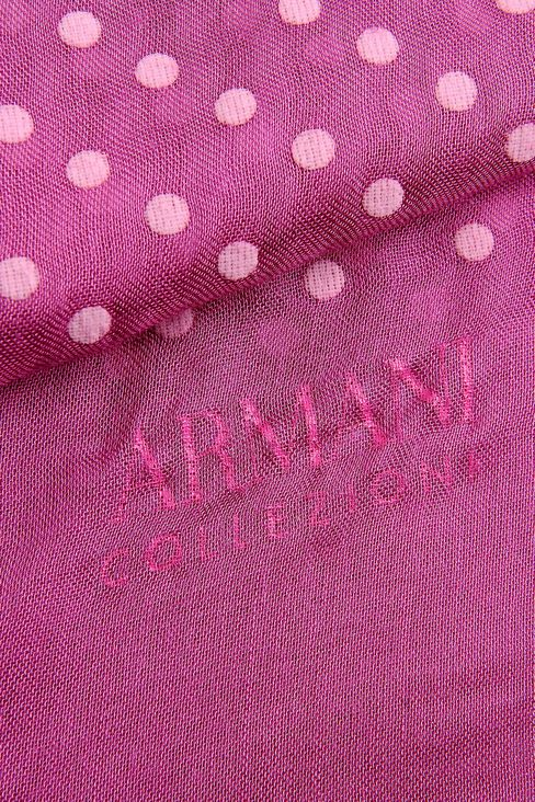 POLKA-DOT STOLE: Stoles Women by Armani - 3