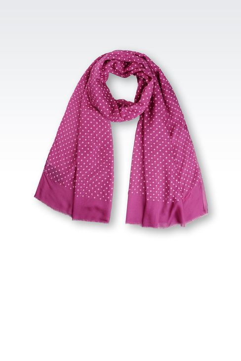 POLKA-DOT STOLE: Stoles Women by Armani - 1