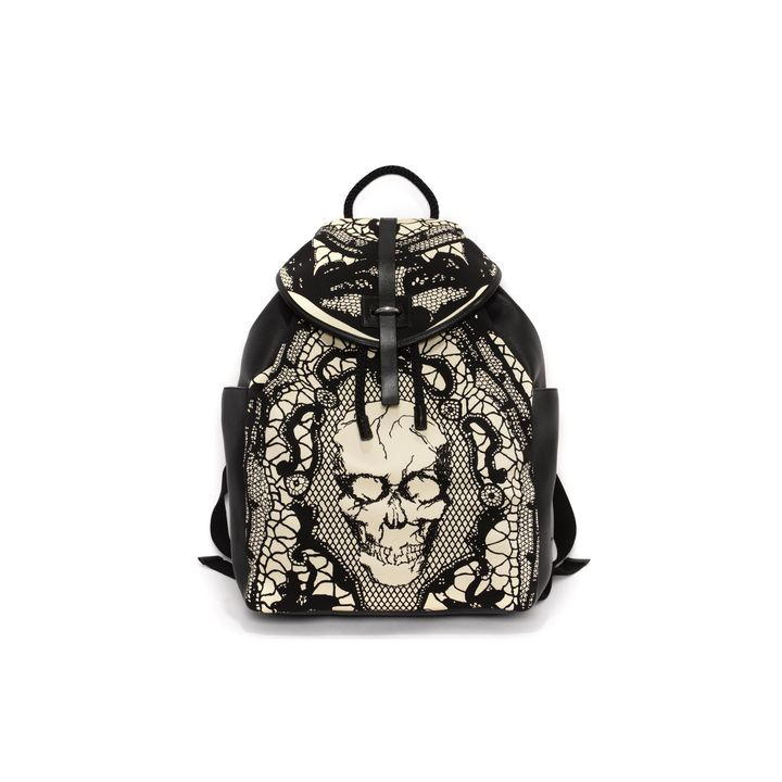 Alexander McQueen Skull Lace Backpack