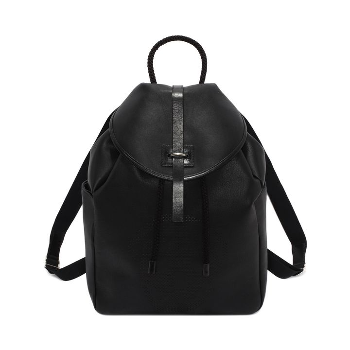 Alexander McQueen, Leather Perforated Skull Back-Pack