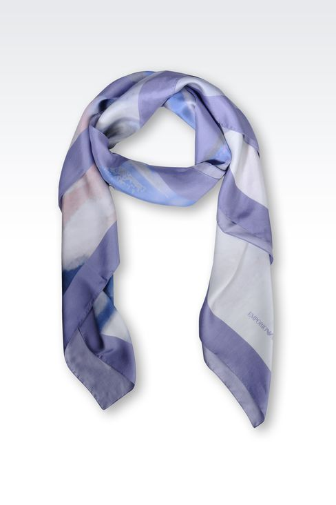 SILK STOLE: Foulards Women by Armani - 1
