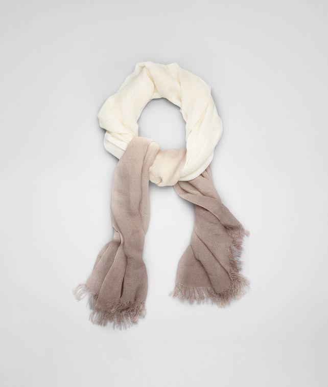 Ivory Beige Silk Scarf