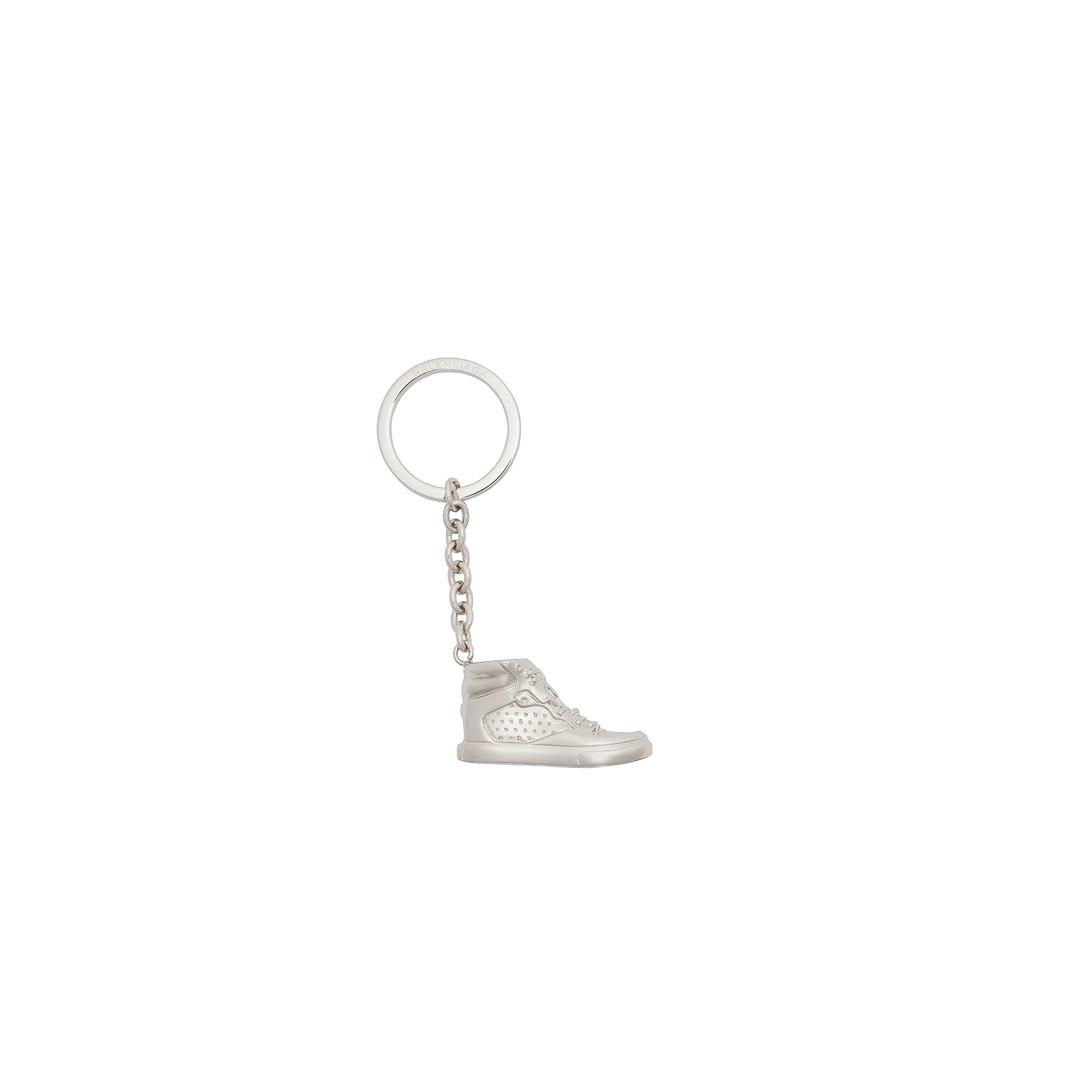 Balenciaga Sneaker Schlüsselring Clasp Silber