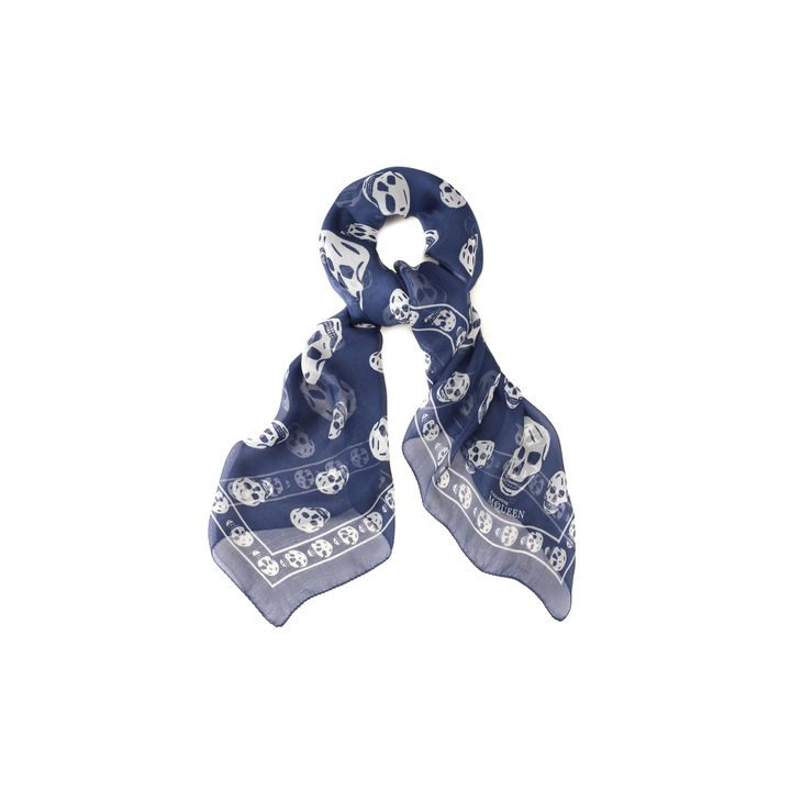 Sale alerts for Alexander McQueen Classic Silk Chiffon Skull Scarf - Covvet