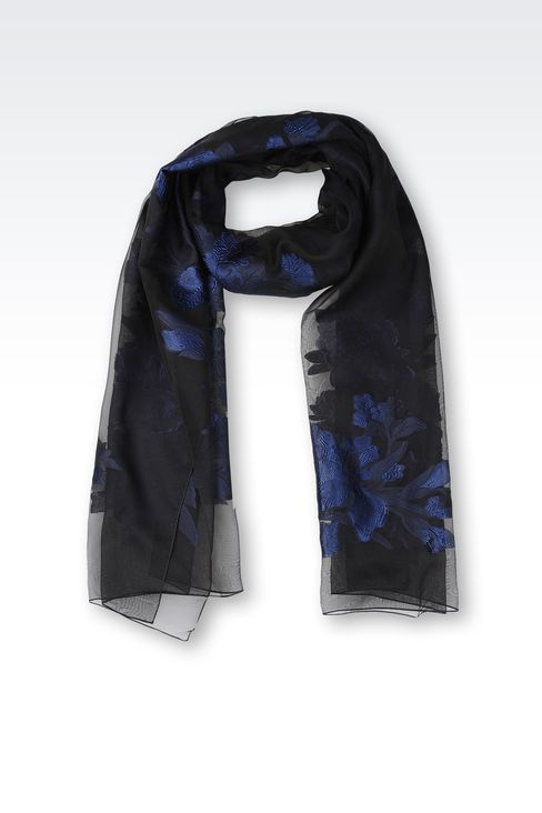 FLORAL WRAP: Stoles Women by Armani - 1