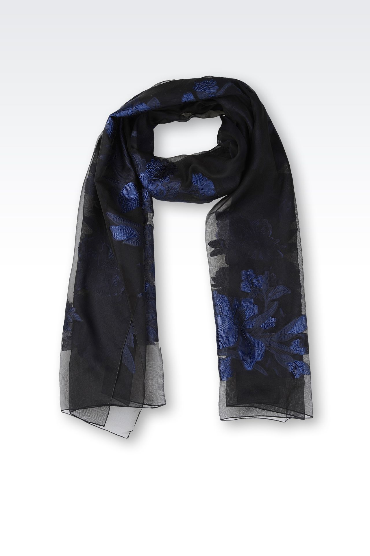 FLORAL WRAP: Stoles Women by Armani - 0