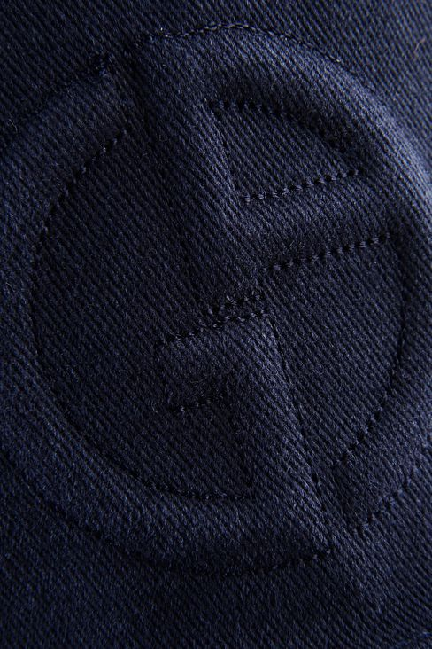 COTTON BASEBALL CAP WITH LOGO: Hats with visor Men by Armani - 3