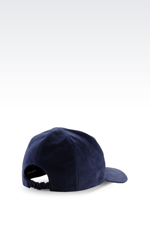 COTTON BASEBALL CAP WITH LOGO: Hats with visor Men by Armani - 2