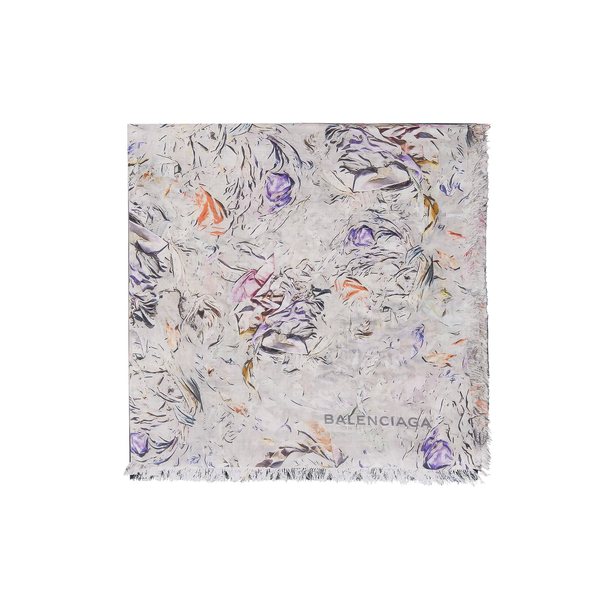 Balenciaga Abstract Garden Scarf