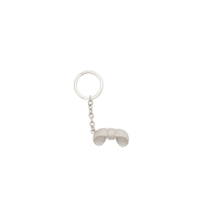 Balenciaga Silver Bow Keyring Clasp