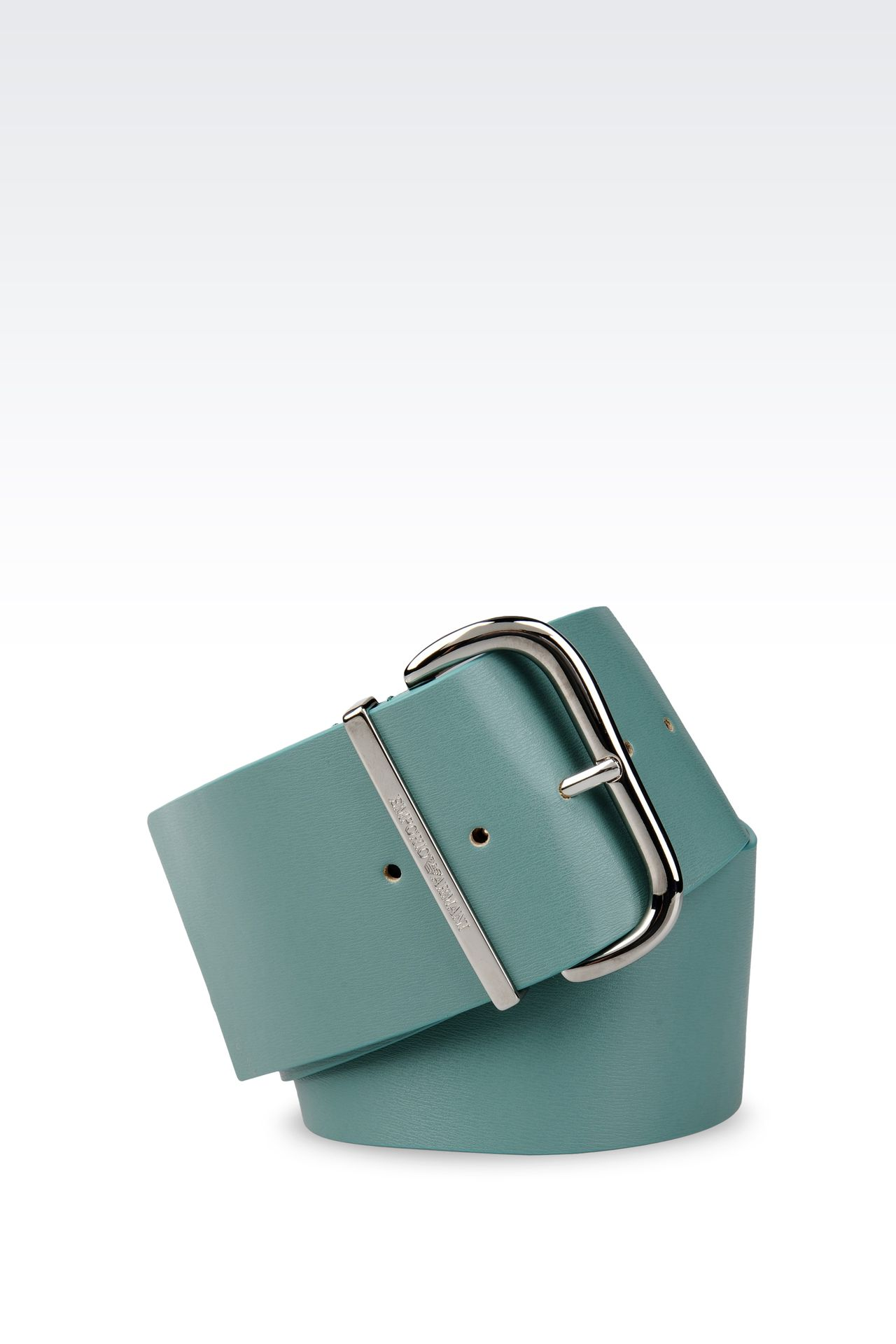 Belts: Leather belts Women by Armani - 0