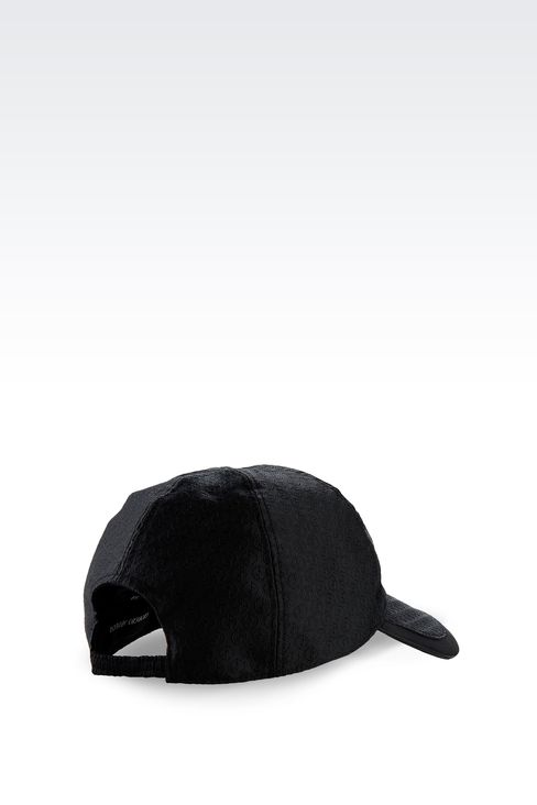BASEBALL CAP WITH LOGO DESIGN: Hats with visor Men by Armani - 2