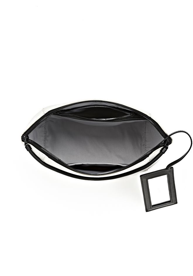 EXCLUSIVE LARGE CHASTITY MAKE UP POUCH IN CHALK