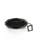 LARGE CHASTITY MAKE UP POUCH IN BLACK