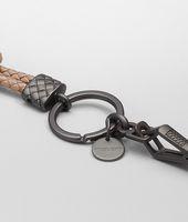 RAME MET INTRECCIATO NAPPA METALLIZZATO Key Ring