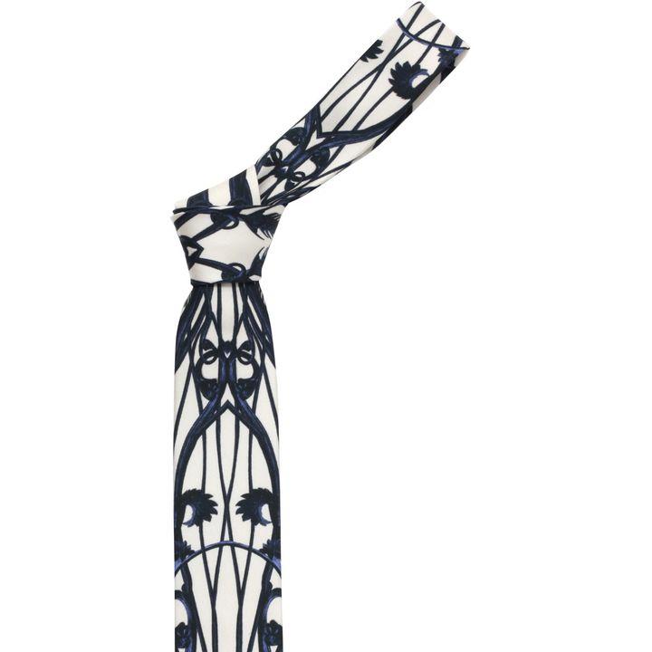 Alexander McQueen, Floral Print Tie