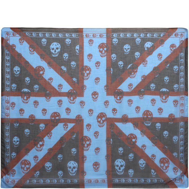 Alexander McQueen, Foulard Skull New Union Jack