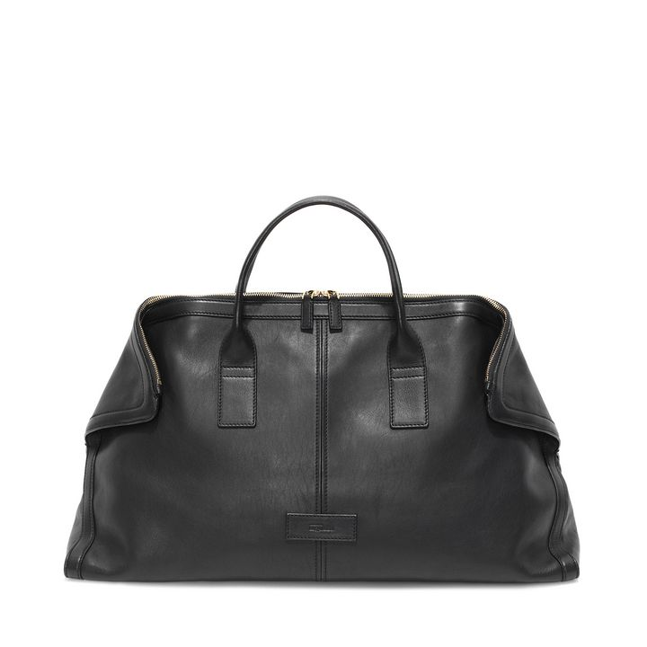 Alexander McQueen, Leather De Manta Carry All