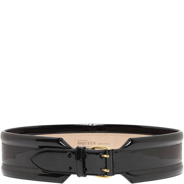 Alexander McQueen, Patent Padded Belt