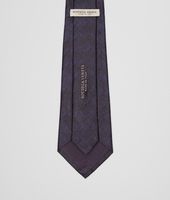 TIE IN TOURMALINE NERO SILK