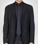 BOTTEGA VENETA TIE IN TOURMALINE NERO SILK Tie or bow tie U rp