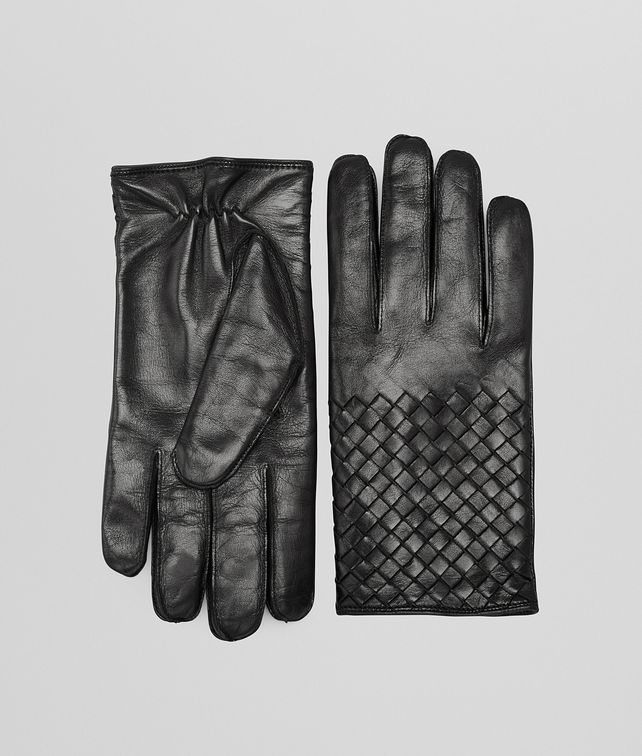 GLOVES IN NERO NAPPA