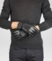 BOTTEGA VENETA GLOVES IN NERO NAPPA Scarf or Hat or Glove U rp