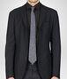 BOTTEGA VENETA Sapphire Black Silk Tie Tie or bow tie U rp