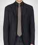 BOTTEGA VENETA TIE IN OLIVE BLACK SILK Tie or bow tie U rp