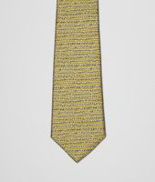 Citron Dark Green Silk Tie