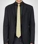 BOTTEGA VENETA TIE IN CITRON DARK GREEN SILK Tie or bow tie U rp
