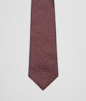 Amaranth Medium Grey Silk Tie