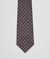 Graphite Black Silk Tie