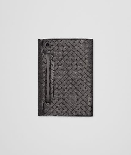BOTTEGA VENETA - Nero Intrecciato Nappa Mini iPad Case