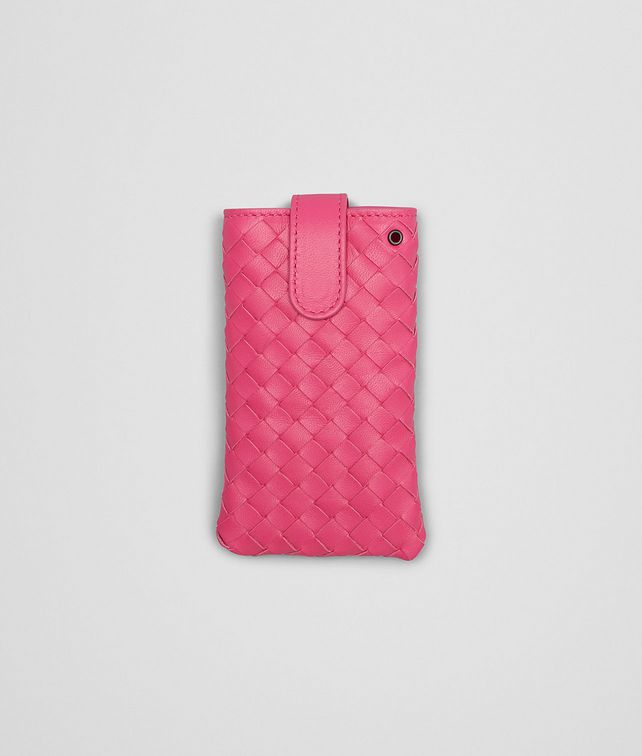Rosa Shock Intrecciato Nappa iPhone Case