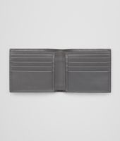 PORTEFEUILLE MEDIUM GREY EN CUIR DE VACHETTE INTRECCIATO